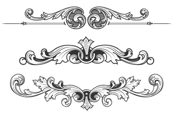 174 best images about filigree acanthus on pinterest