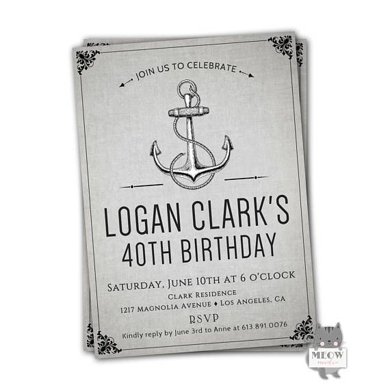 Best 25+ Birthday Invitations Adult Ideas On Pinterest