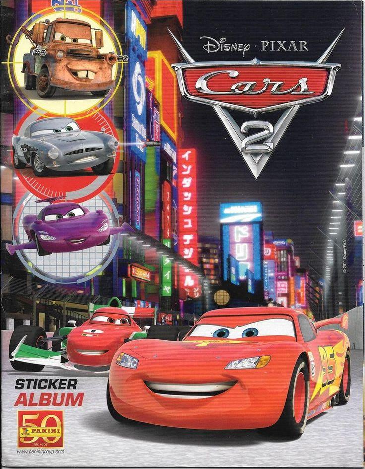 Disney Pixar Cars 2 Panini Sticker Album