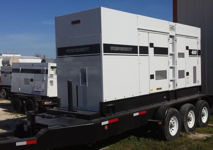 320kW Multiquip DCA400SSI Portable Diesel Generator. Tier 3. LB Tested