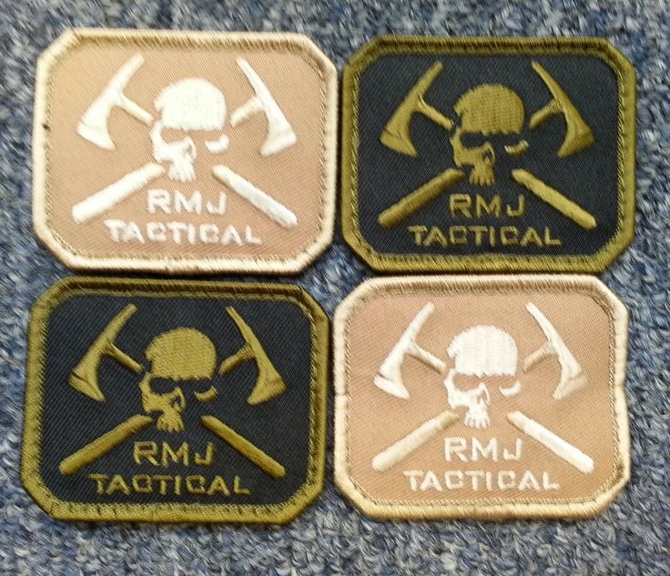 RMJ Tactical - Morale Patch, $5.00 (http://www.rmjtactical.com/morale-patch/)