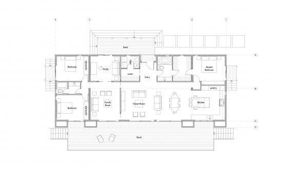 modern farmhouse floor plan.