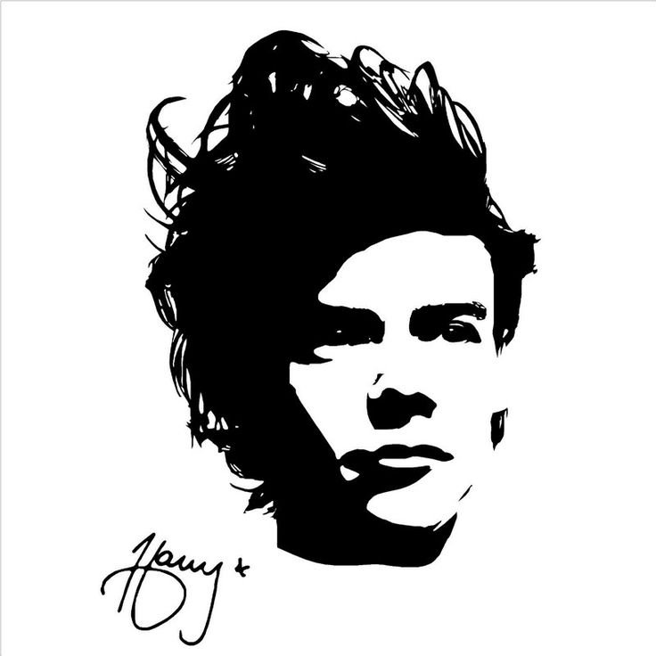 G001 ONE DIRECTION HARRY STYLES Wall Art Sticker Decal Girls Bedroom music Children 's room wall stickers decorative arts