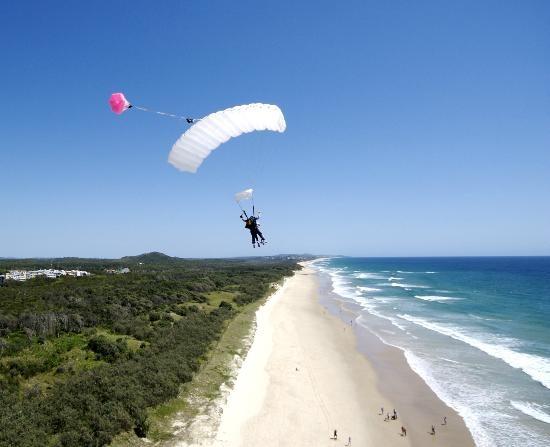 Sunshine Coast, #Australia: Coolum Beach Tandem Beach Landings