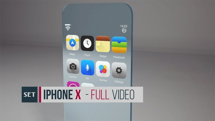 iPhone X [Full Video] - iPhone 7 futuristic concept