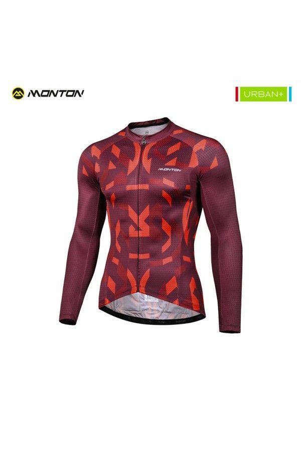 Mens Long Sleeve Cycling Jersey Com Imagens