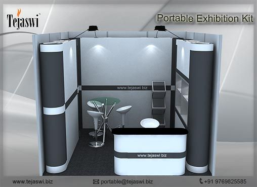 Portable And Reusable Exhibition Kit : Best portable exhibition stall kit flexible