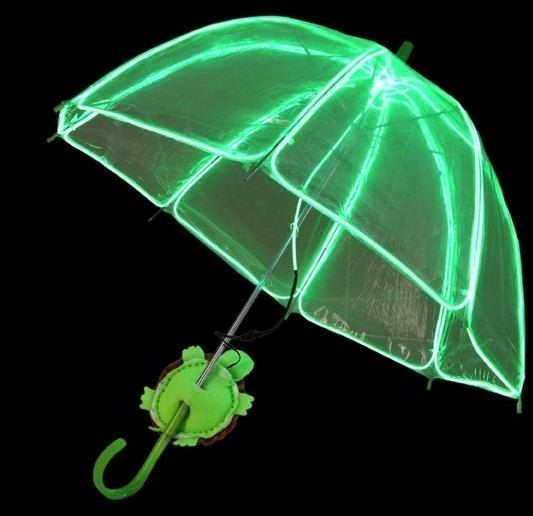 How to Make Neon Children's Umbrella Using EL Wire « MacGyverisms