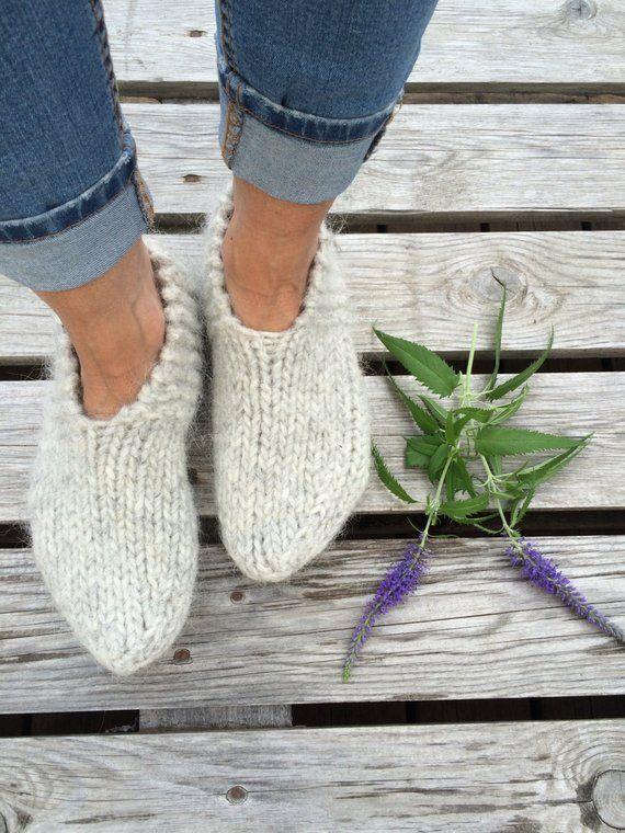 68982b4c38cac Icelandic wool slippers, authentic Icelandic product, warm socks ...