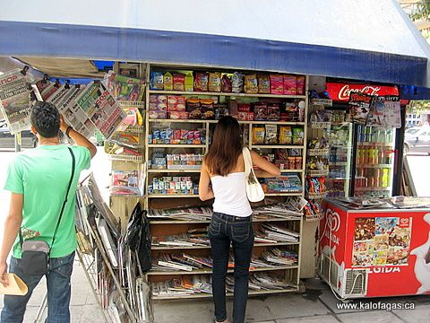 Things i miss about greece.... these things are called peripteros. Basically a mini convenient store located outdoors on a side walk. i'd choose this over 7-11 any day of the week