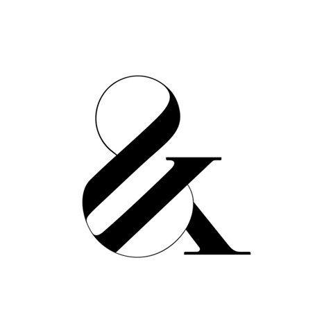 Best ampersand ever | via Future Proof