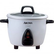 Aroma ARC-733G 3-Cup Rice Cooker & Food Steamer
