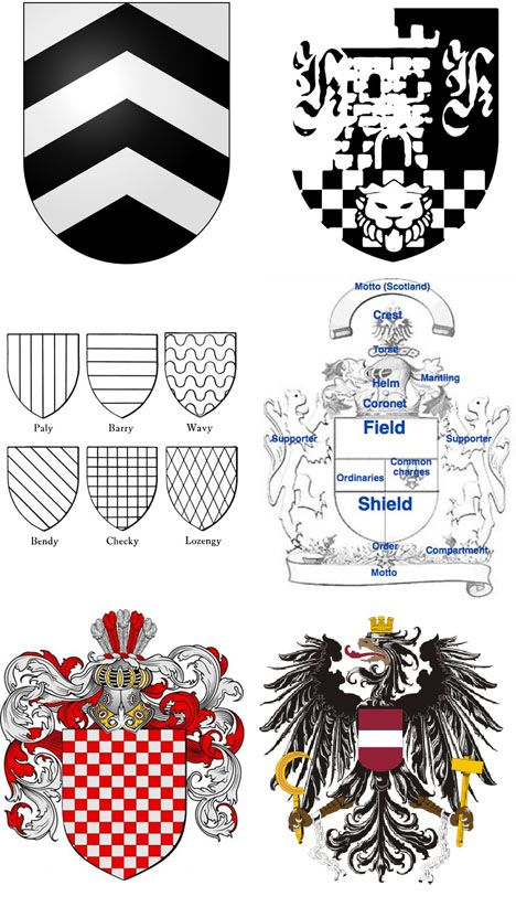 Early Graphic Design: The European Coat of Arms