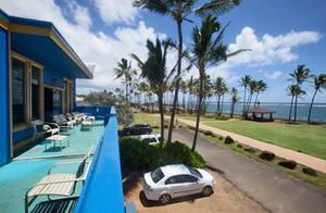 ARE YOU READY FOR THE KAUAI BEACH HOSUE HOSTEL AND THE ISLE OF KAUAI ?  We are located at the edge of the BLUE LAGOON on the PACIFIC OCEAN, IN KAPA'A TOWN, ON THE ISLE OF KAUAI.