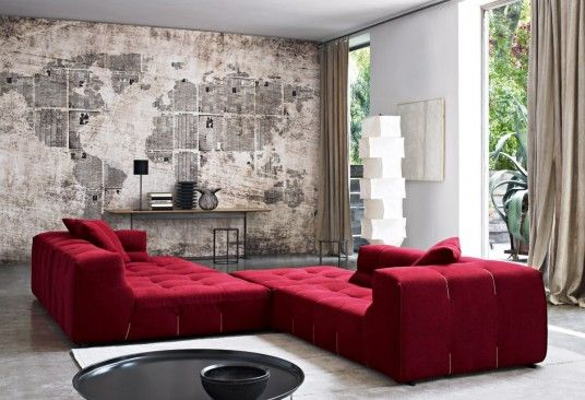 Red and Grey Home Design Ideas - Real House Design
