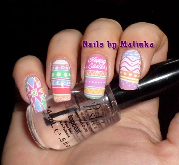 Nails by Malinka: Pasen, Easter, MoYou Festive Collection-13