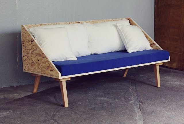 liTTLe triangle Plywood sOFA