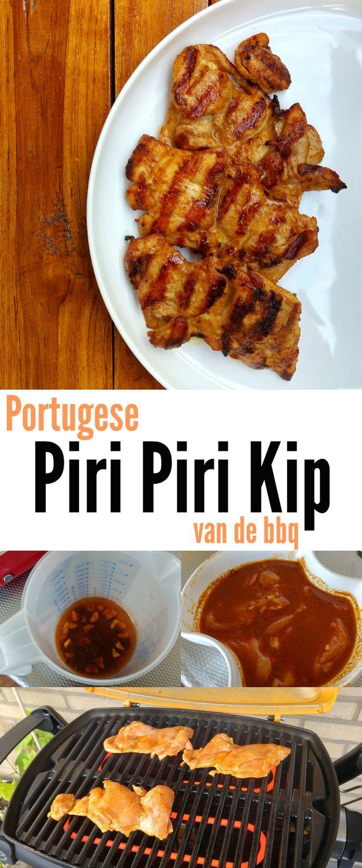 Ook zo dol op Portugese Piri Piri Kip maar heb je het nog nooit zelf gemaakt? Dan wordt dat de hoogste tijd want het is echt een fluitje van een cent! :D