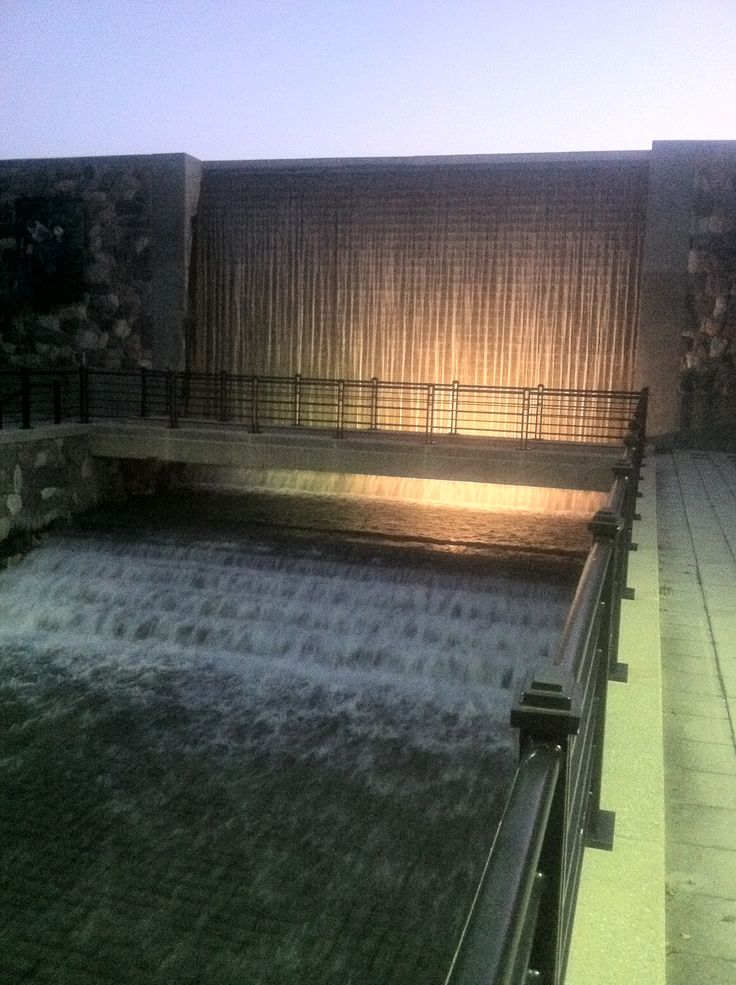 Waterfall In Downtown Battle Creek