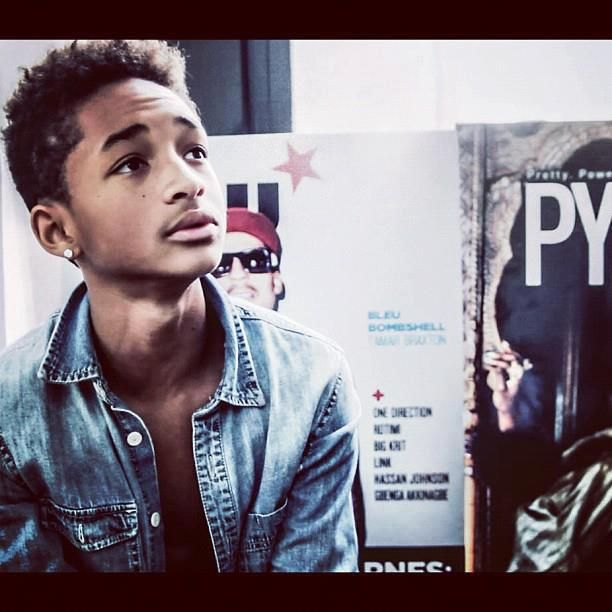 Im seriously in love with Jaden Smith ♥