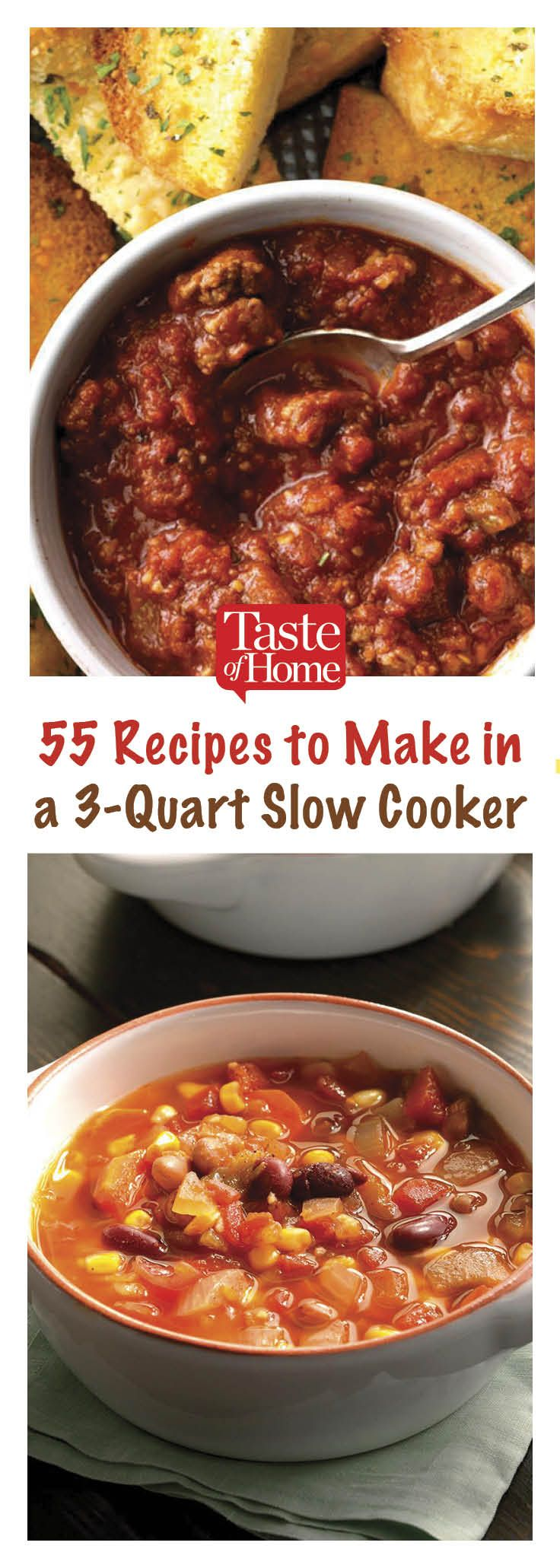 55 Recipes that Fit Perfectly in Your 3-Quart Slow Cooker
