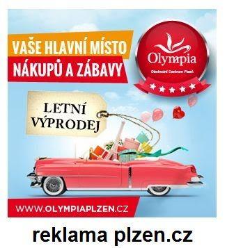 Olympia Plzeň nákupy a slevy v Plzni