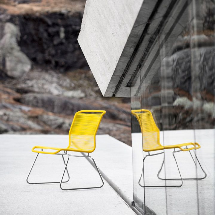 Add a little sunshine. Enjoy easter on the Panton One Lounge chair. #montanafurniture #danish #design #panton #verner #chair #yellow #easter