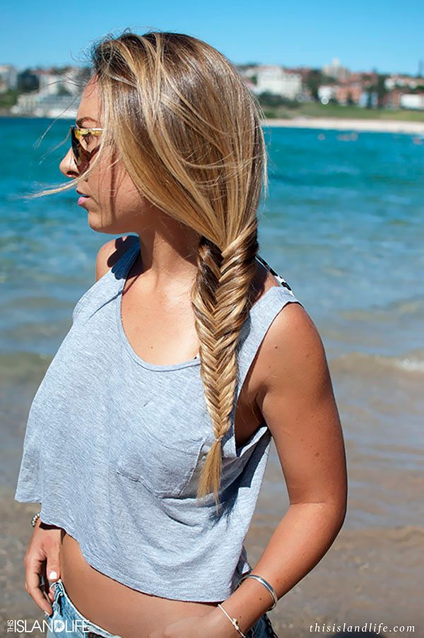 How to do a fishtail side braid - Hair Romance