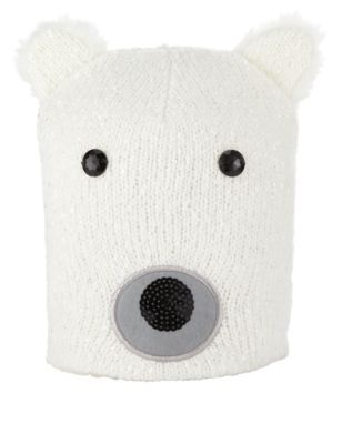 Polar Bear hat...this is needed for gloomy mornings