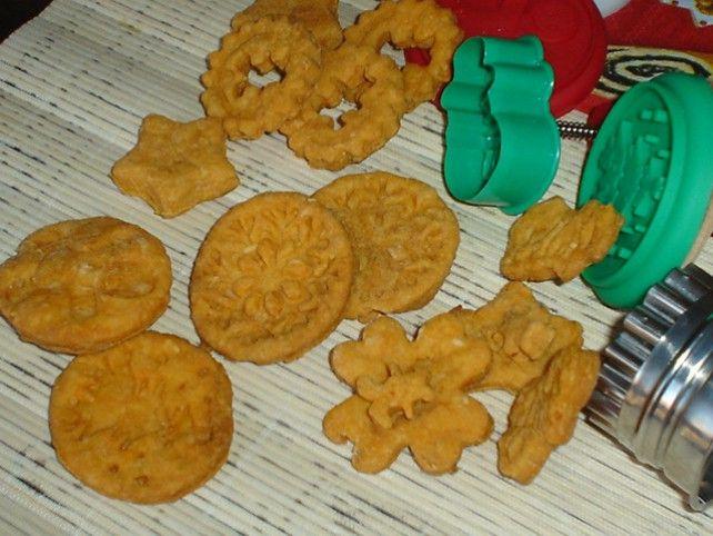 Sajtos-ropogós keksz Recept képpel - Mindmegette.hu - Receptek
