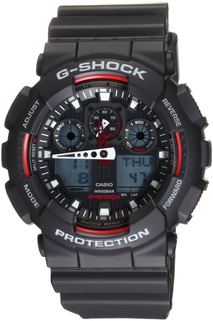 "Casio Men's GA100-1A4 ""G-Shock"" Sport Watch $72"