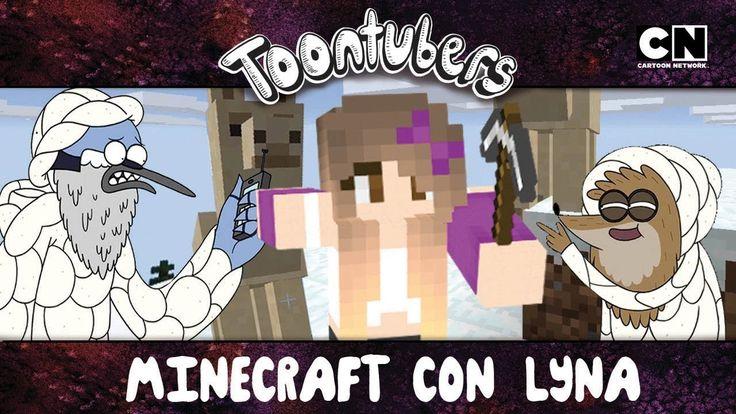 ANIMALES SALVAJES DE MINECRAFT CON LYNA!!!   Toontubers   Cartoon Network - YouTube