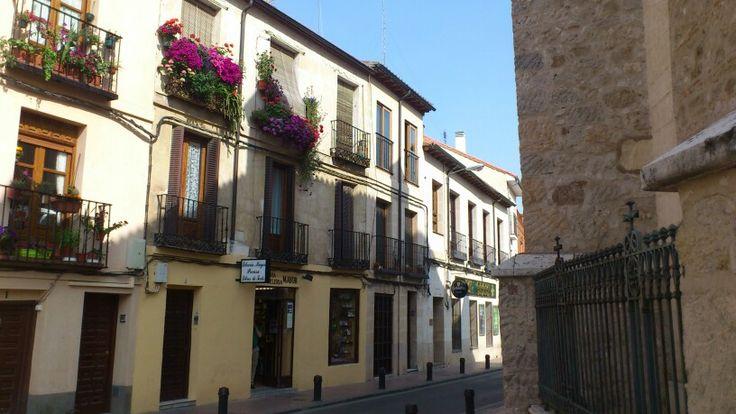 Calle Empecinado de Alcalá de Henares. Empecinado Street ir Alcalá de Henares.