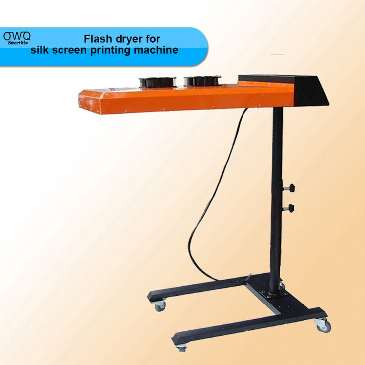 1PCS ND602 New Flash dryer for silk screen printing machine T-shirt printing machine printing area 50*60CM /220V