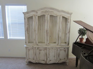 Unpainted Furniture Nj Restoration Furniture: French Country Hutch | For the Home | Pinterest ...