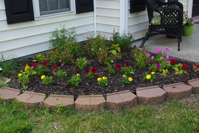 Decorative Stones For Flower Beds : Best images about diy pavers on pinterest concrete