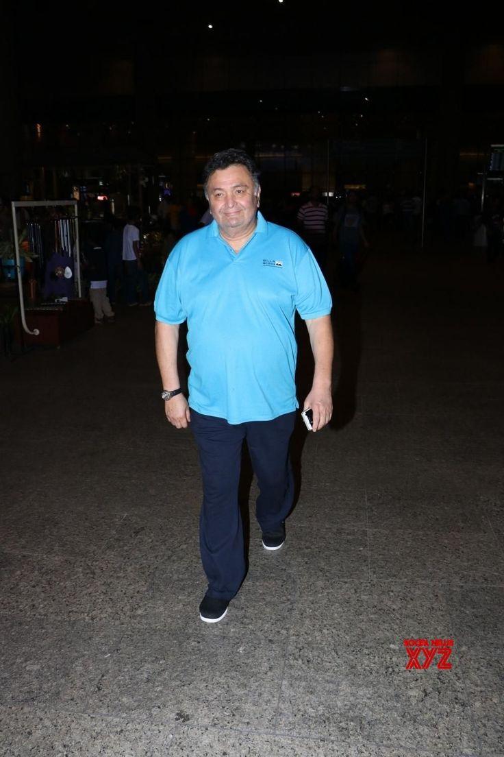 Mumbai: Rishi Kapoor spotted at airport - Social News XYZ