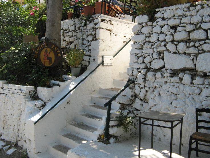 Athen's, centre