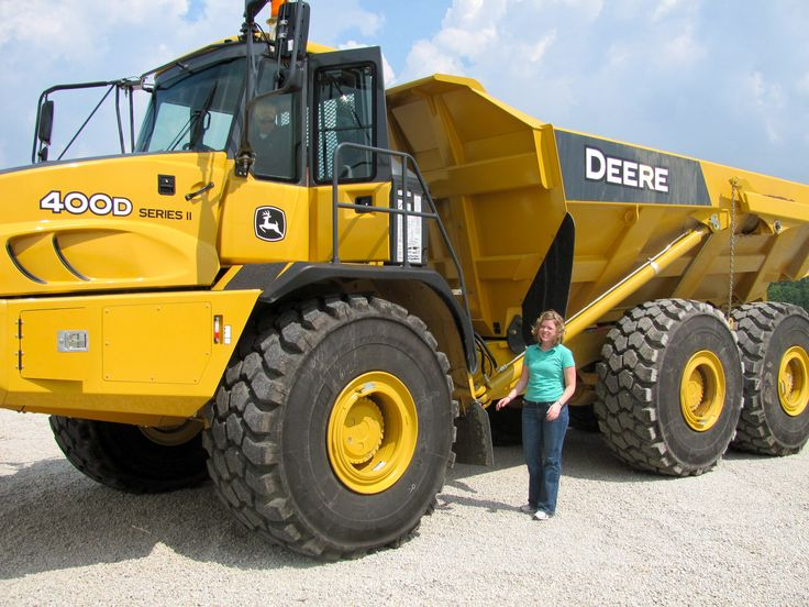 99 best Girls with Tractors images on Pinterest