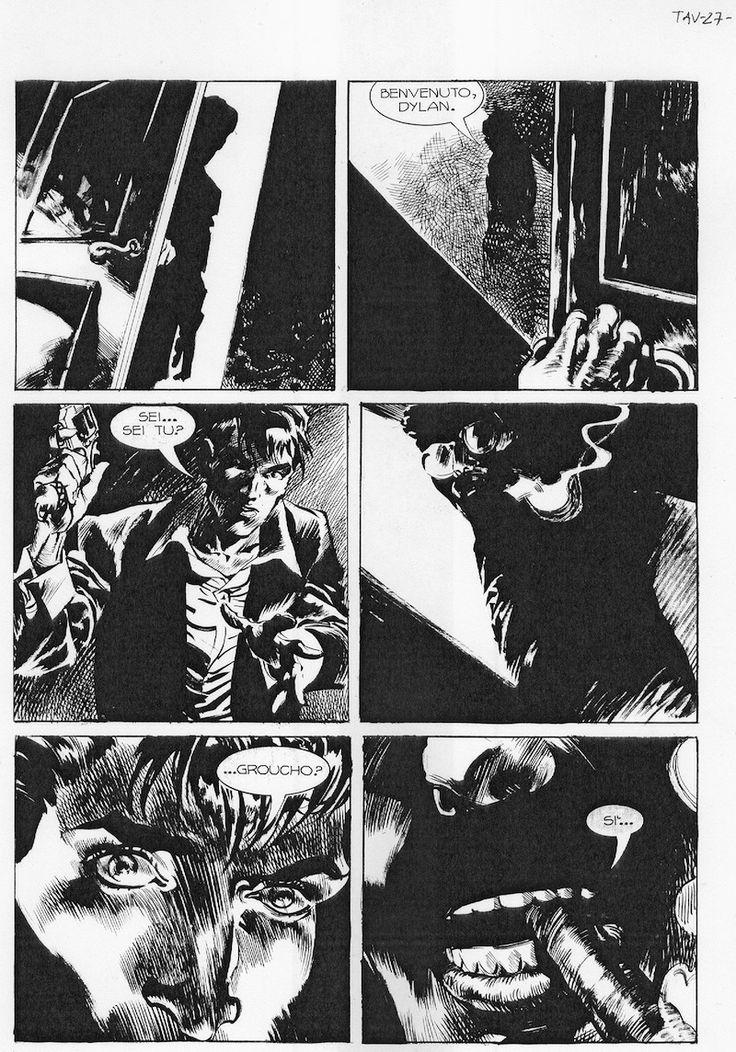 Dylan Dog 333, 'I Raminghi dell'Autunno', di Fabio Celoni