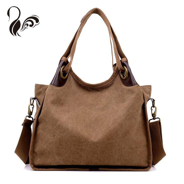 LUOQI Tote Hobos Women Fashion Beach Bags Canvas Casual Handbags Designer Shoulder Bags Brand Crossbody Large Beach Bags
