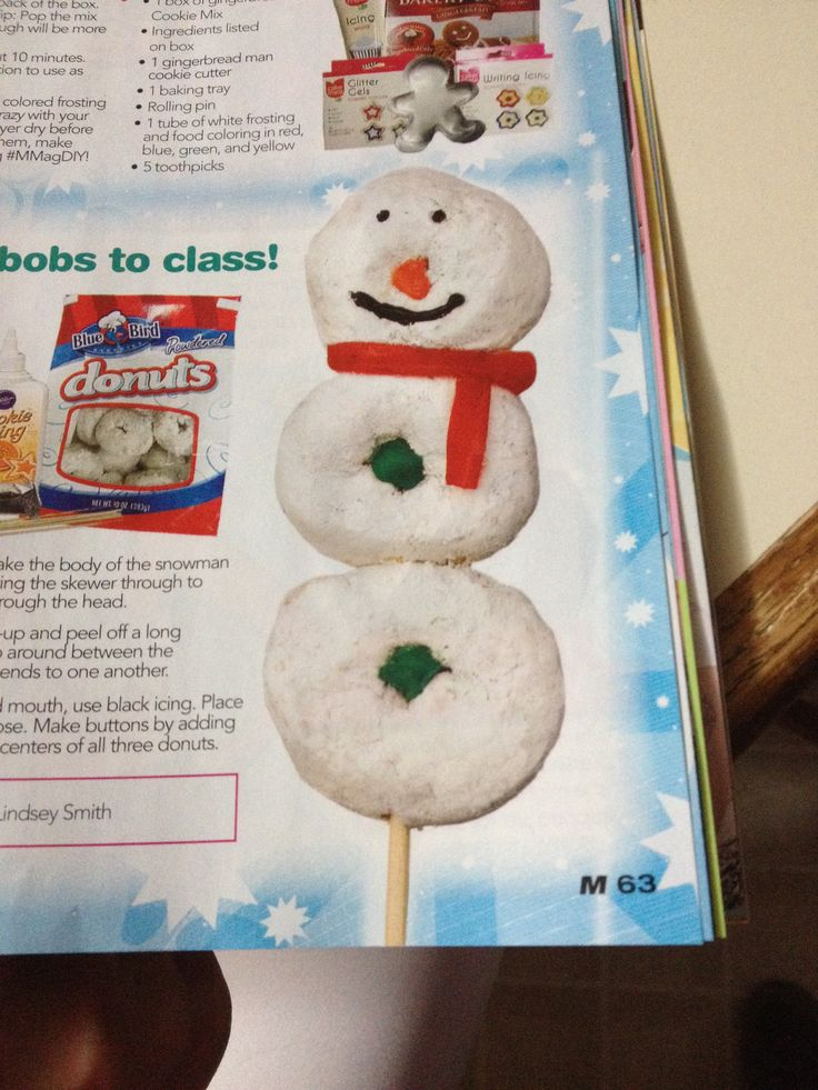 Christmas classroom treat.