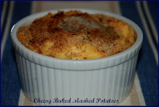 Living Rancho Delux: Cheesy Baked Mashed Potatoes
