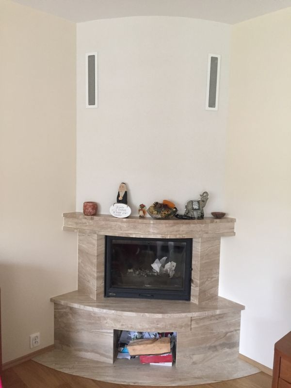klasyczny kominek rustykalny obudowa kominkowa t62