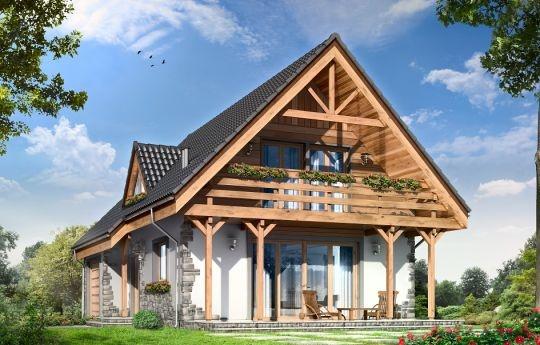 Projekt Wisełka to parterowy, jednorodzinny dom z poddaszem użytkowym, przekryty dwuspadowym, symetrycznym dachem. Budynek zaprojektowano z myślą o cztero-pięcioosobowej rodzinie. Dom może służyć również jako letniskowy. Architektonicznie budynek nawiązuje do południowych rejonów Polski. Drewniane wykończenia szczytów domu, słupy z zastrzałami, balkon, kamienne okładziny elewacji - wszystkie te elementy przywodzą na myśl podhalańskie wzory.
