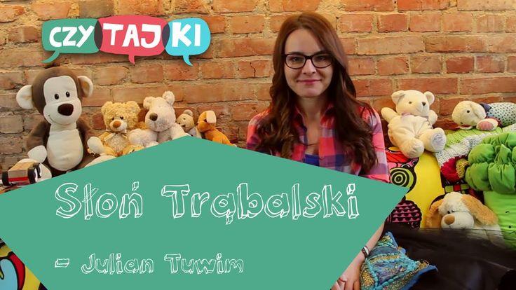 Słoń Trąbalski - Julian Tuwim | Wiersze dla dzieci #czytajki #czytamydzieciom #tuwim