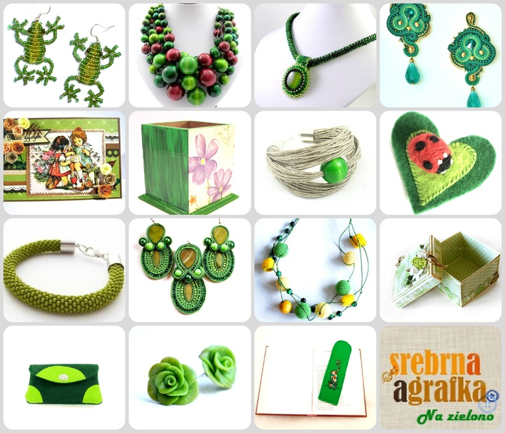 Green inspirations :) #craft #style #accessories