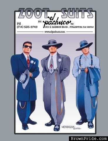 zoot suits pachuco