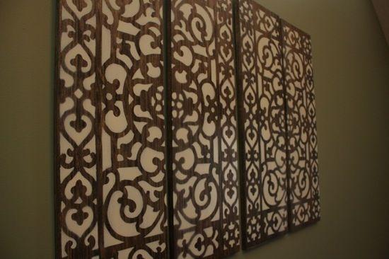 DIY Doormat Wall Art