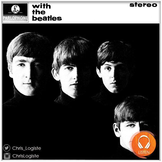 The Beatles - With the Beatles (22 novembre 1963) // Reprend le visuel du disque original anglais avec notes de pochettes et photos inédites. Kevin Howlett et Mike Heatley ont rédigé des notes historiques supplémentaires. Allan Rouse et Kevin Howlett ont rédigé des notes supplémentaires concernant les enregistrements. #theBeatles #Beatles #album #musique #lennon